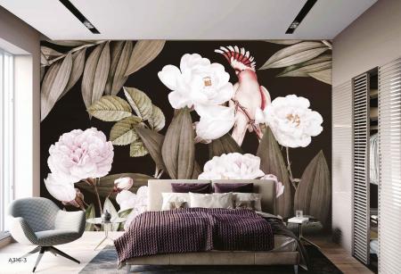 A316 Serie | Flower Pattern Poster Wallpaper