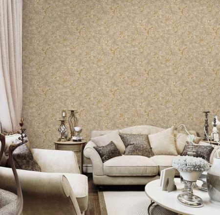 1006 Serie | Leaf Pattern Wallpaper