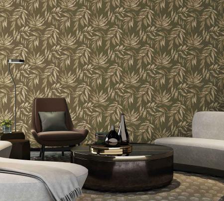 1012 Serie | Leaf Pattern Wallpaper