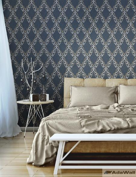 1610 Serie | Classic diamond shaped ornament wallpaper