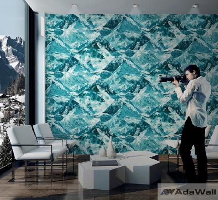 1622 Serie | Mountains motif inspired modern bold wallpaper