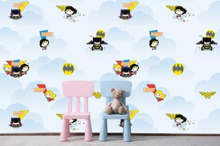 CODE WB2000 | DC SUPER FRIENDS MURAL WALLPAPER