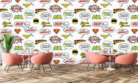 CODE WB2014   SUPERMAN MURAL WALLPAPER