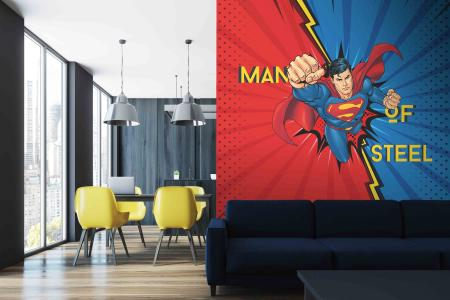CODE WB2021 |SUPERMAN MURAL WALLPAPER