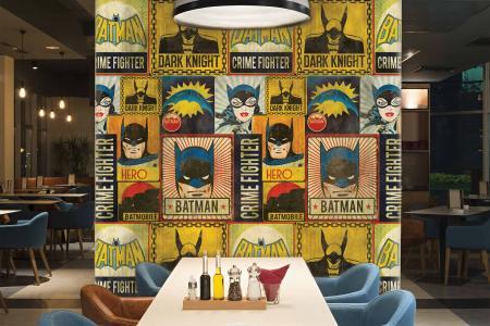 CODE WB2024   BATMAN MURAL WALLPAPER