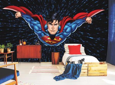 CODE WB2030 | SUPERMAN MURAL WALLPAPER