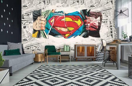 CODE WB2033 | SUPERMAN MURAL WALLPAPER