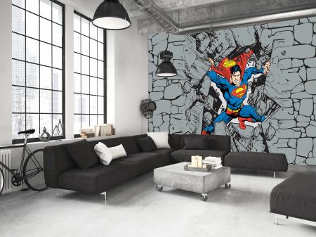 CODE WB2040 | SUPERMAN MURAL WALLPAPER
