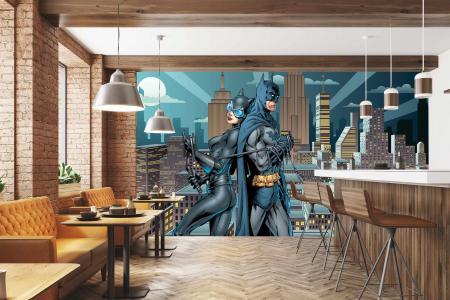 CODE WB2043 | BATMAN MURAL WALLPAPER