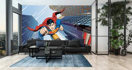 CODE WB2071 | SUPERMAN MURAL WALLPAPER