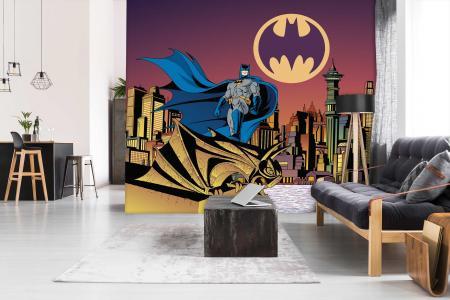 CODE WB2079   BATMAN MURAL WALLPAPER