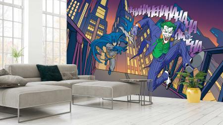 CODE WB2081 |BATMAN MURAL WALLPAPER