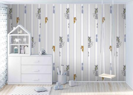 CODE WB2155 | TOM AND JERRY MURAL WALLPAPER