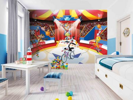 CODE WB2156 | LOONEY TUNES MURAL WALLPAPER