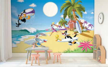 CODE WB2169 | LOONEY TUNES MURAL WALLPAPER