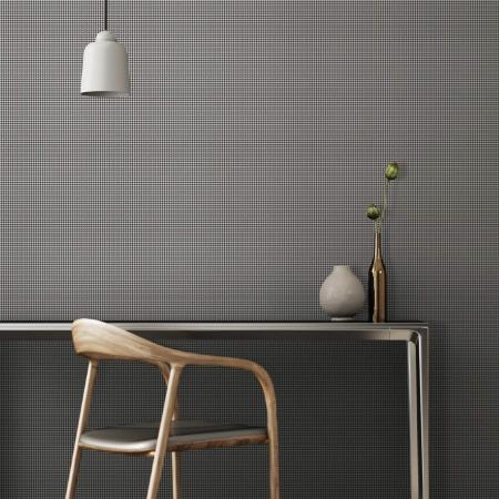 3718 Serie | Plain fine textile texture pattern wallpaper