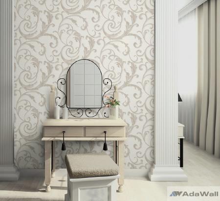 2612 Serie | Elegant Curly Leaves wallpaper