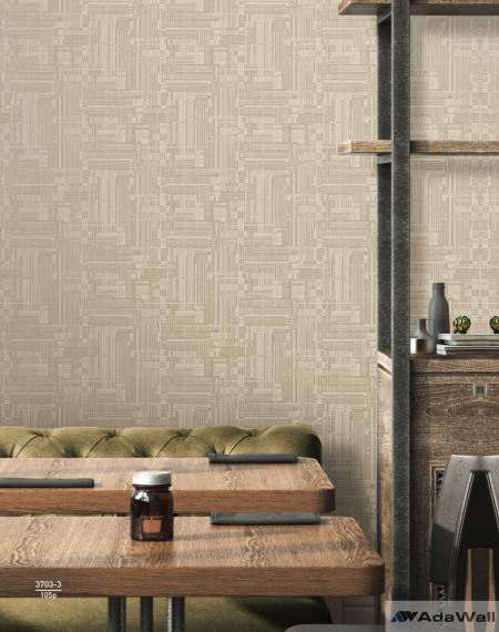 3703 Serie | Abstract stylised woven modern pattern wallpaper