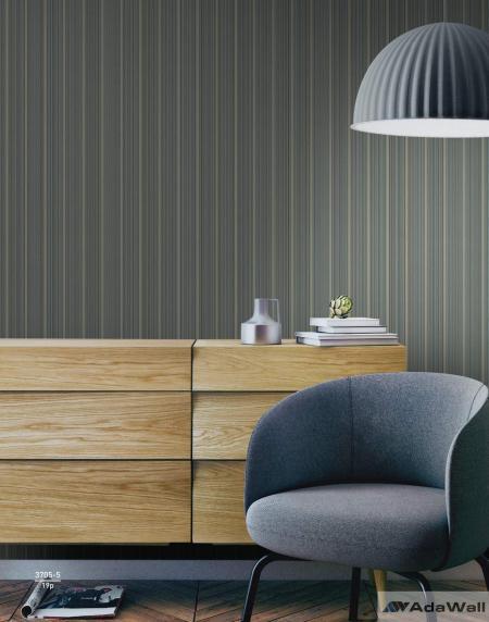 3705 Serie | Small delicate striped wallpaper
