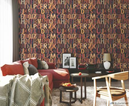4704 Serie   Bold typography modern style wallpaper