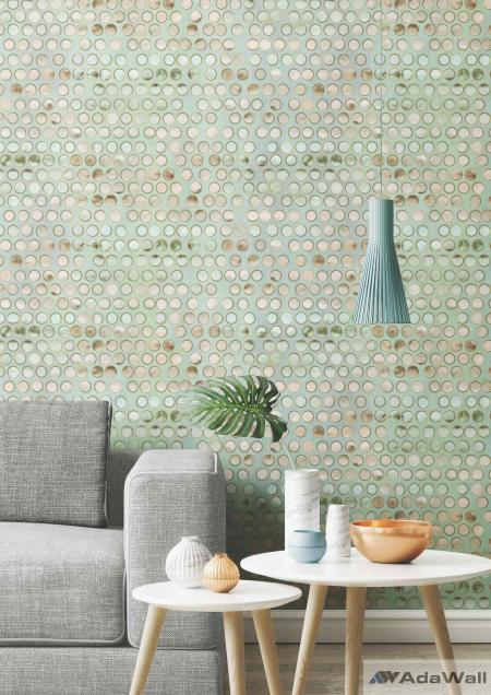 4706 Serie | Mother-of-pearl dots design wallpaper