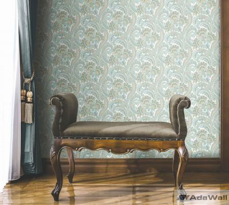 4711 Serie | Colorful classic paisley wallpaper