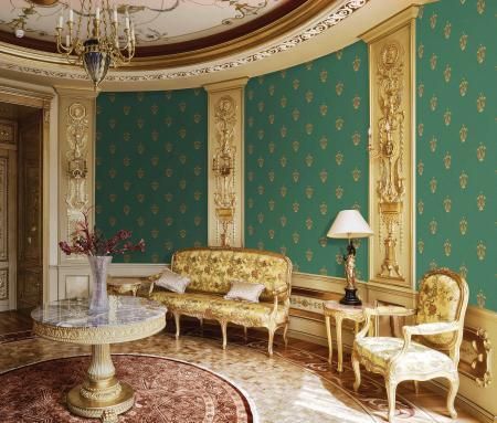 5807 Serie | Klasik narin süslemeli duvar kağıdı