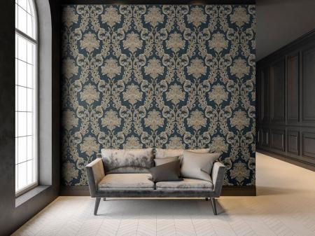 6808 Serie | Damask rich ornament wallpaper