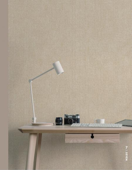 7801 Serie | Kaba keten kumaş dokusu duvar kağıdı