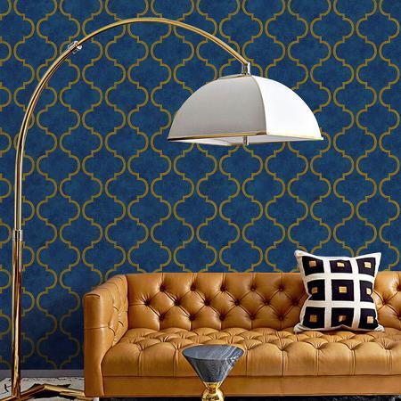 4703 Serie | Light oriental ornament wallpaper