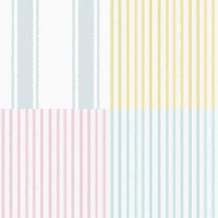 8900 Serie | Classical striped wallpaper for kids room
