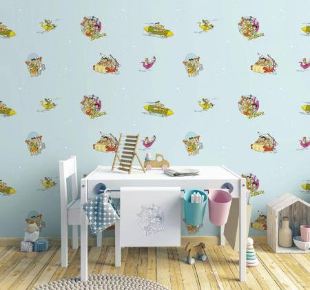 8923 Serie | Flintstones cartoon themed wallpaper