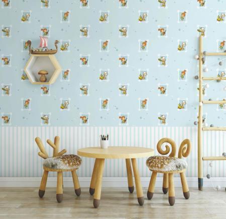 8924 Serie | Flintstones cartoon themed wallpaper